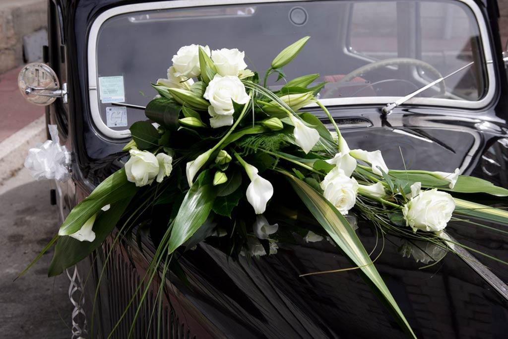 Decoration Florale Mariage Voiture : Ambiances florale pour vos cérémonies et réception à bordeaux