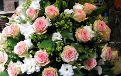 fleur hommage deuil