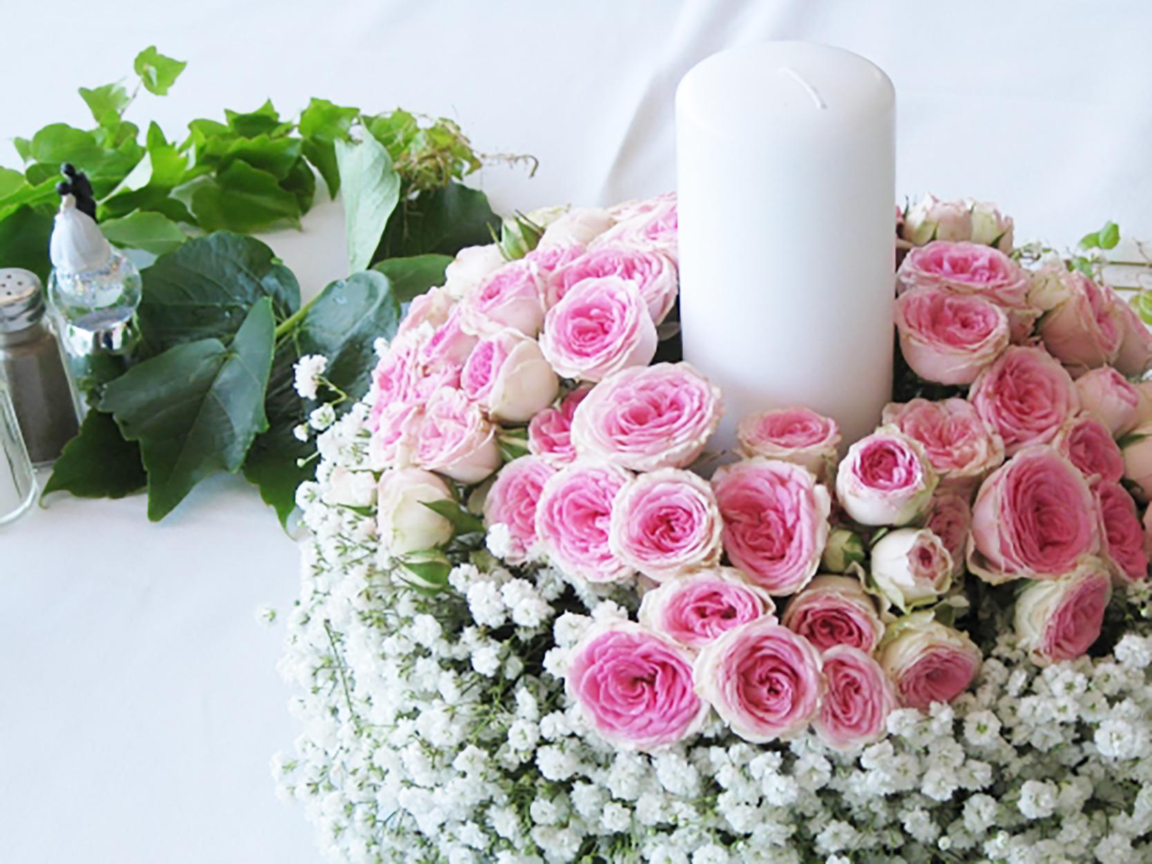 une d coration florale pour un mariage en bord de mer. Black Bedroom Furniture Sets. Home Design Ideas