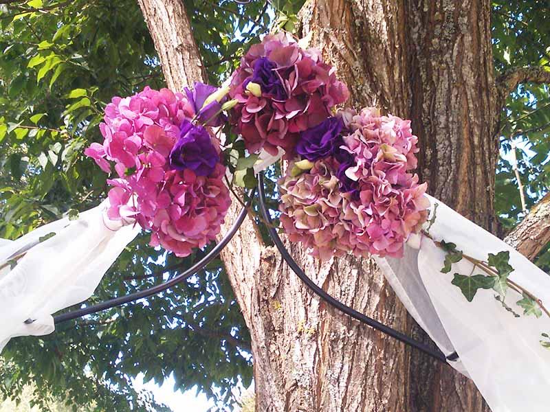 Decoration Florale Mariage Exterieur Fleuriste Bordeaux