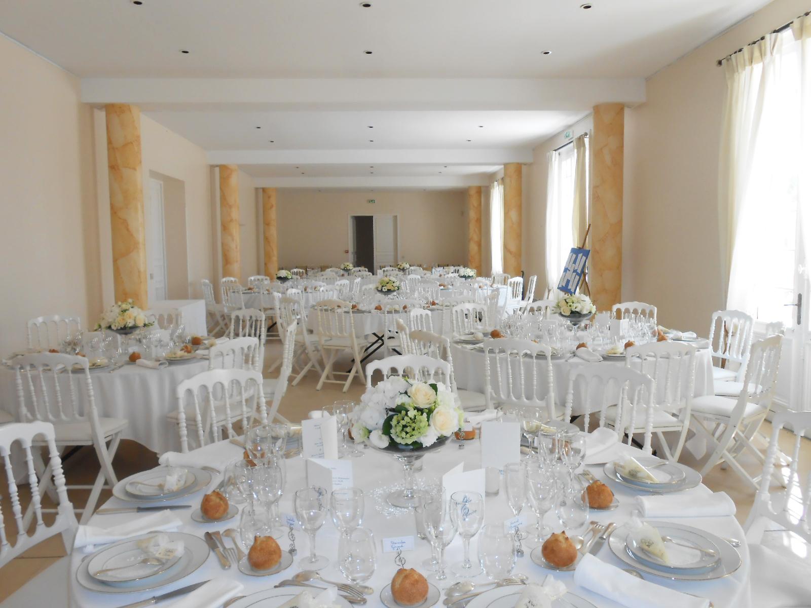 une dcoration florale de mariage naturelle et lgante - Chateau Dauzac Mariage