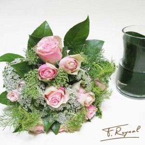 bouquet-rond-rose