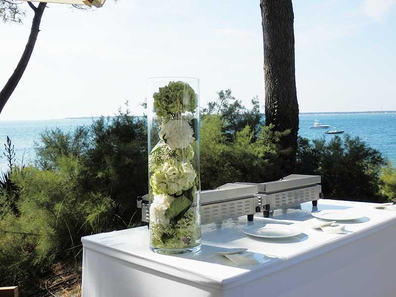 decoration florale mariage arcachon bord de mer fleuriste bordeaux. Black Bedroom Furniture Sets. Home Design Ideas
