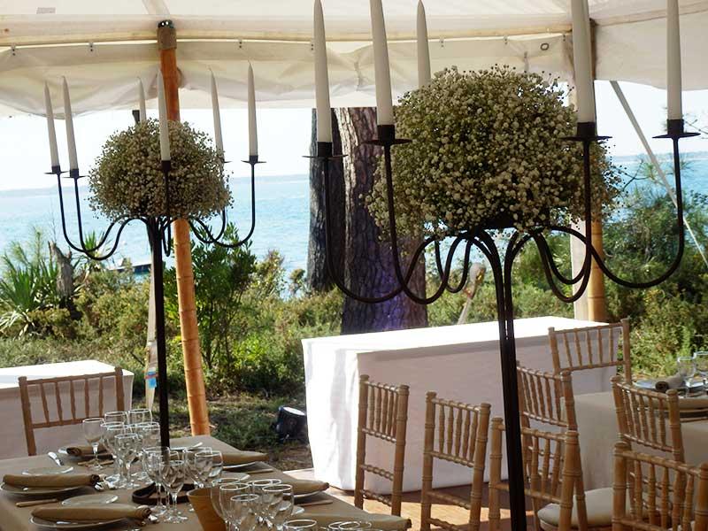 Decoration florale mariage centre de table fleuriste - Decoration florale mariage centre de table ...