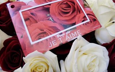 Offrez des fleurs pour la Saint Valentin!