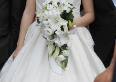 Un mariage tout en blanc à Barsac