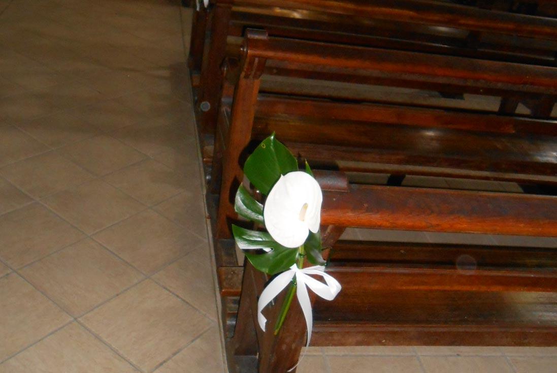 ... Florale &233glise Des Compositions Florales Exotiques Pour Un Mariage
