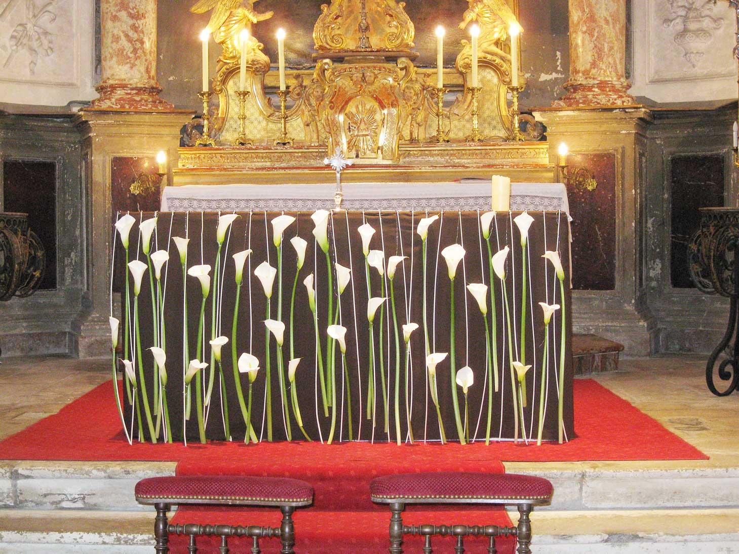 D coration florale pour un mariage barsac - Decoration eglise pour mariage ...