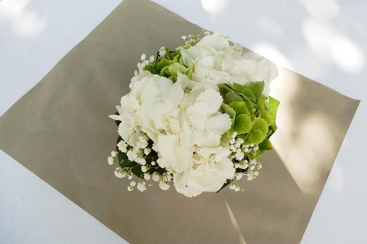 Mariages th me blanc et vert for Bouquet de fleurs vert et blanc