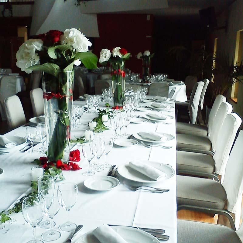 Un mariage en rouge et blanc - Deco mariage blanc et rouge ...