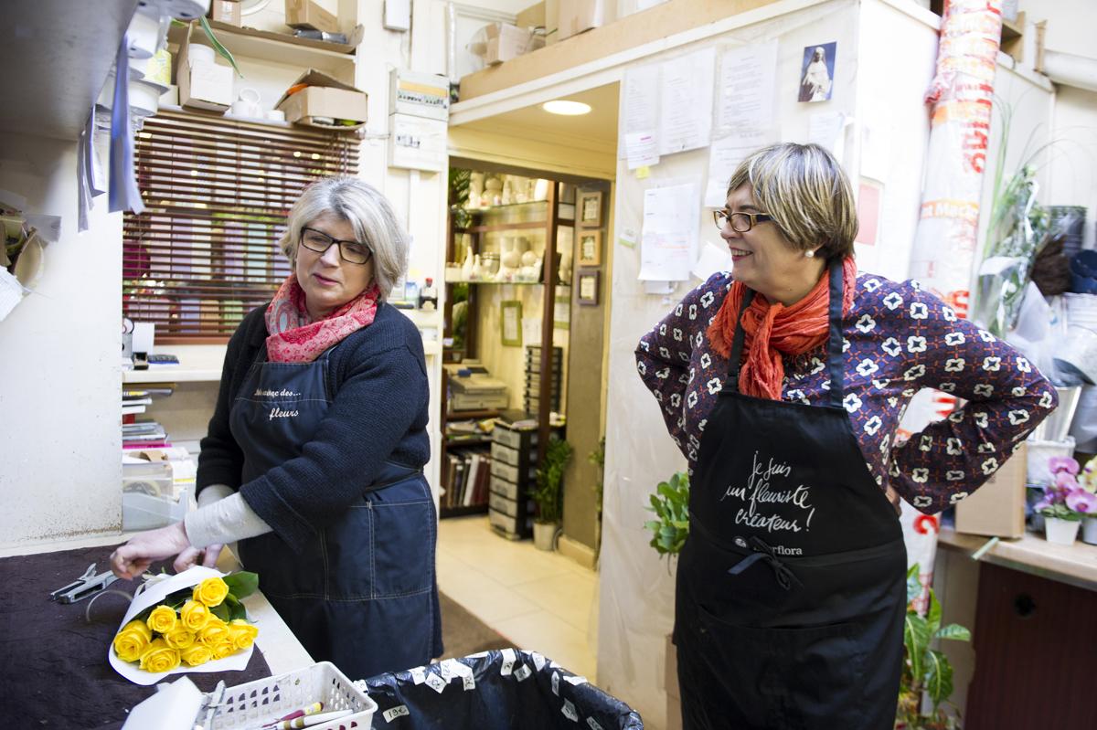Françoise Reynal et Catherine Veyssy