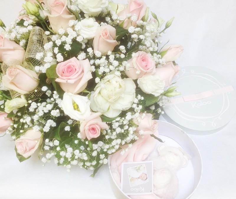 Idée cadeau de naissance fleuriste bordeaux
