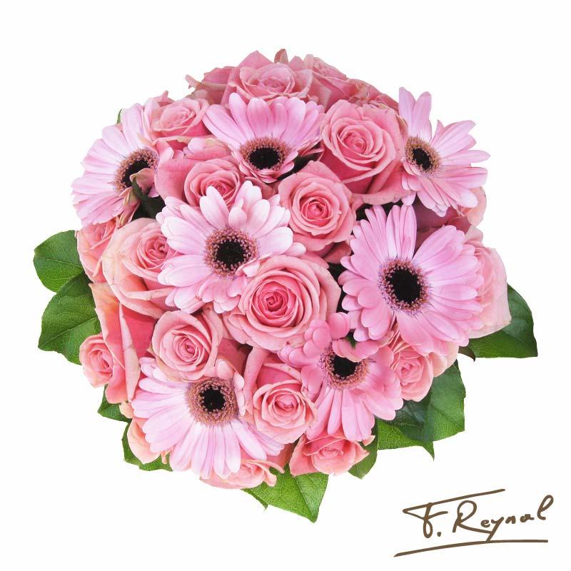 bouquet-fleur-octobre-rose