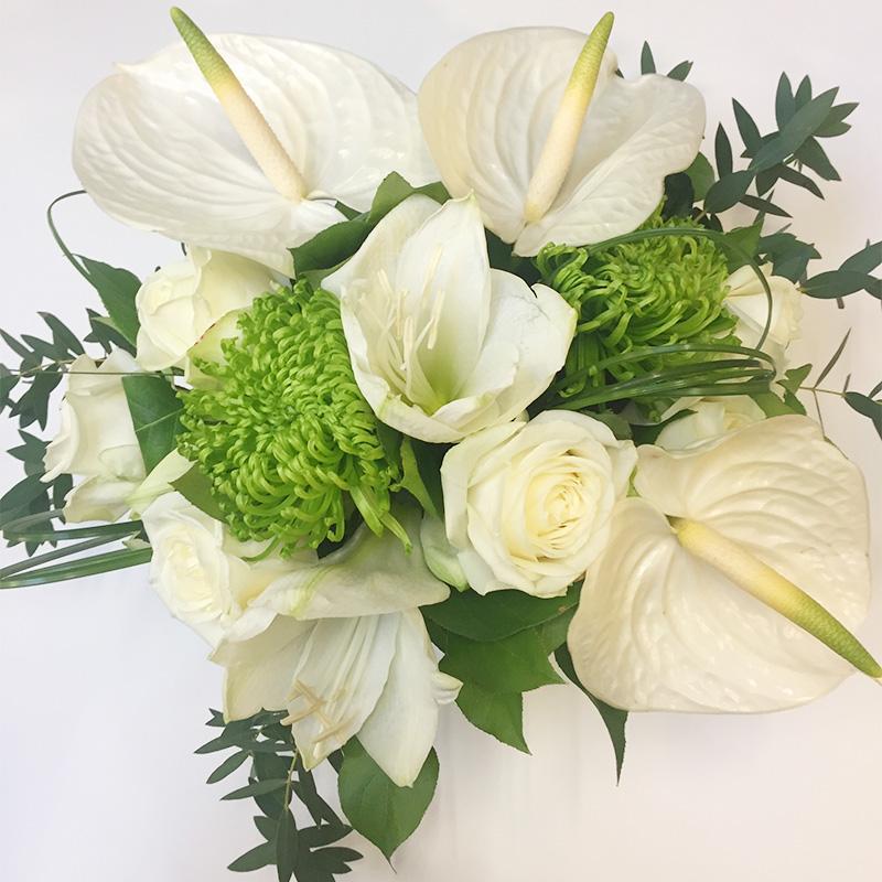 Les amaryllis for Amaryllis en bouquet