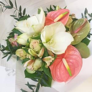 bouquet-amaryllis