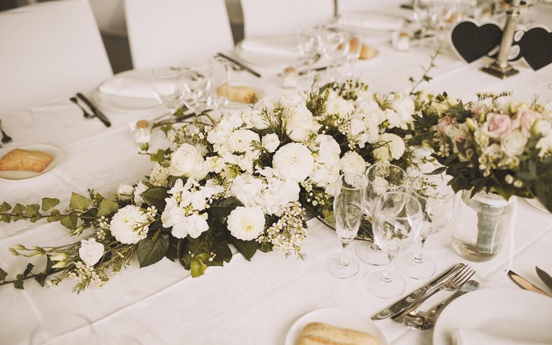 Un mariage à la décoration délicate