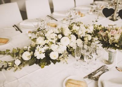 Un mariage à la décoration florale délicate