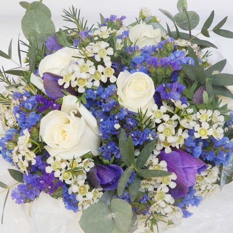 Bouquet de la mari e et accessoires pour votre mariage - Bouquet mariee bleu ...