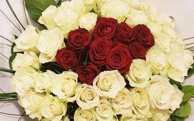 Des fleurs pour la Saint-Valentin