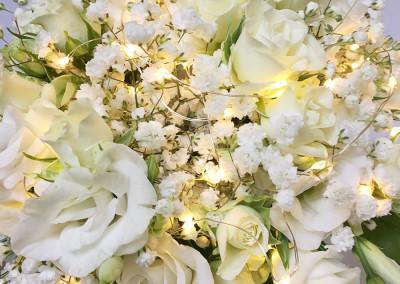 Mariage Fleurs et Led