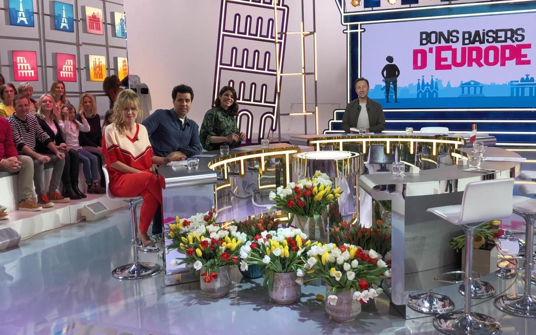 Les fleurs de Françoise Reynal à la télé !