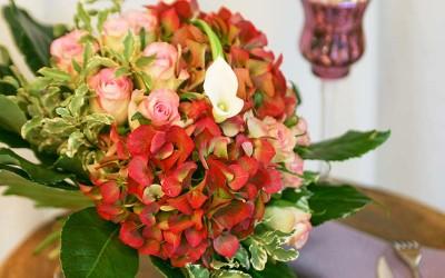 bouquet-rond-rouge-orange