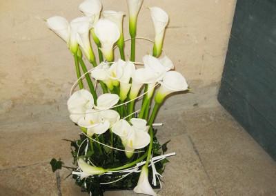 Décoration florale pour un mariage à Barsac