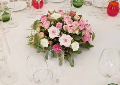Un mariage dans les tons de roses