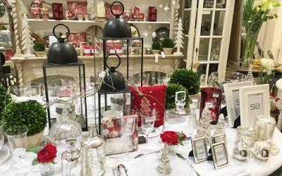 Nos décorations de table pour Noël