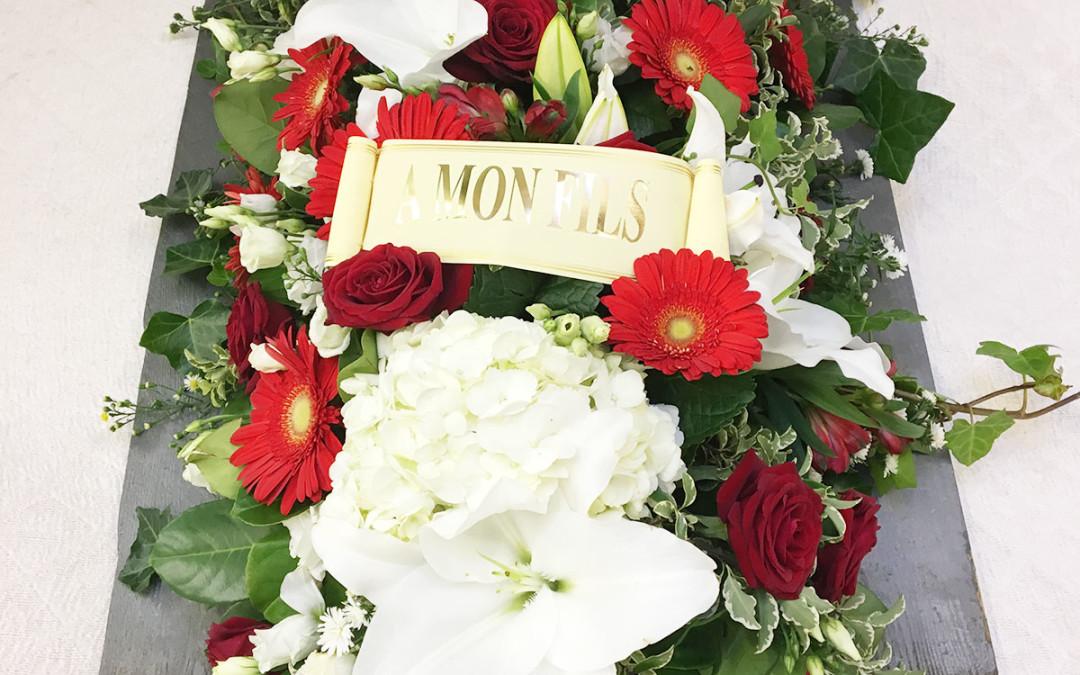 Dessus cercueil 61